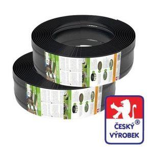 AMISPOL skrytý obrubník® zahradní plastový 125mm / 8m