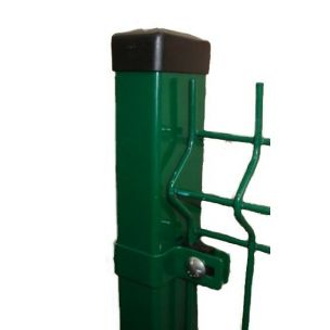 Sloupek k 3D panelům PVC 2000mm tm.zelená