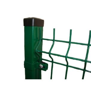 Plotový panel 3D classic PVC zelený 2500x1530mm